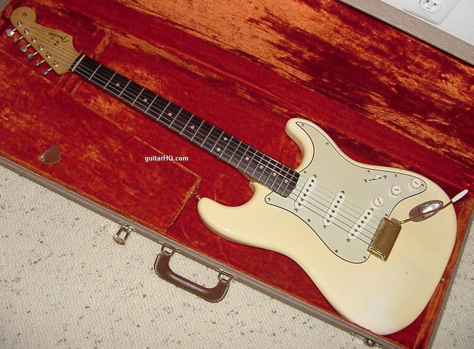 1962 Fender Stratocaster Guitar 62 Strat Collector Info Vintage Pre CBS