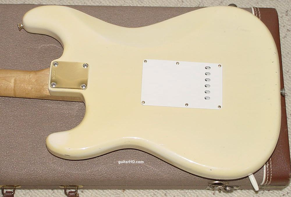 Fender guitar body dating