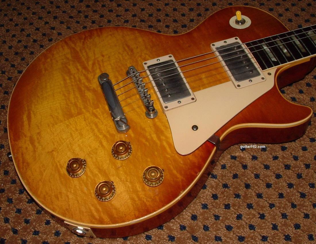 Types of les pauls