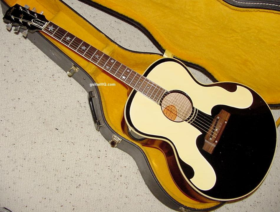 Gibson Everly Brothers Guitar Info Vintage 1962 To 1972