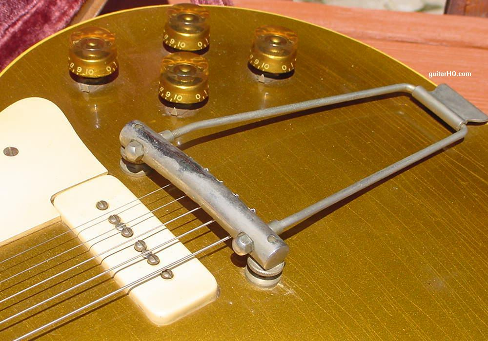 Gibson Les Paul Goldtop guitar Gibson gold top LP info