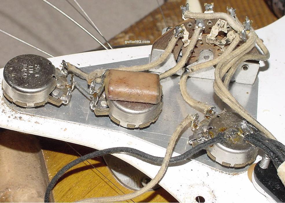 capacitors for guitar | guitarnutz 2 1954 strat wiring diagram 1954 chrysler wiring diagram