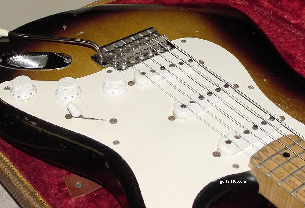 1956 Fender Stratocaster guitar 56 Fender Strat guitar