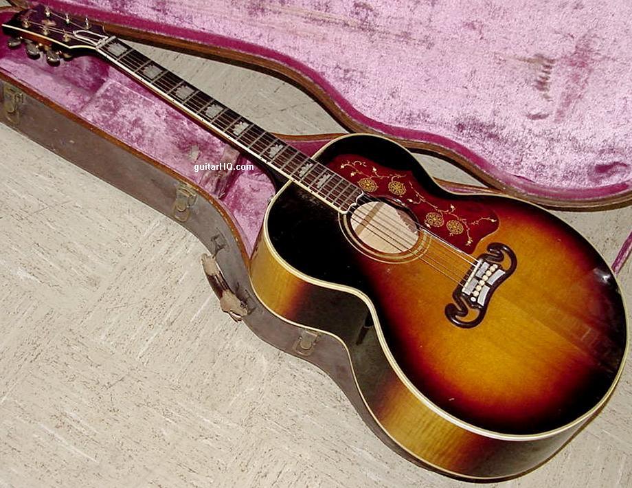 Gibson J-200 guitar Gibson J200 guitar Gibson SJ-200 SJ200