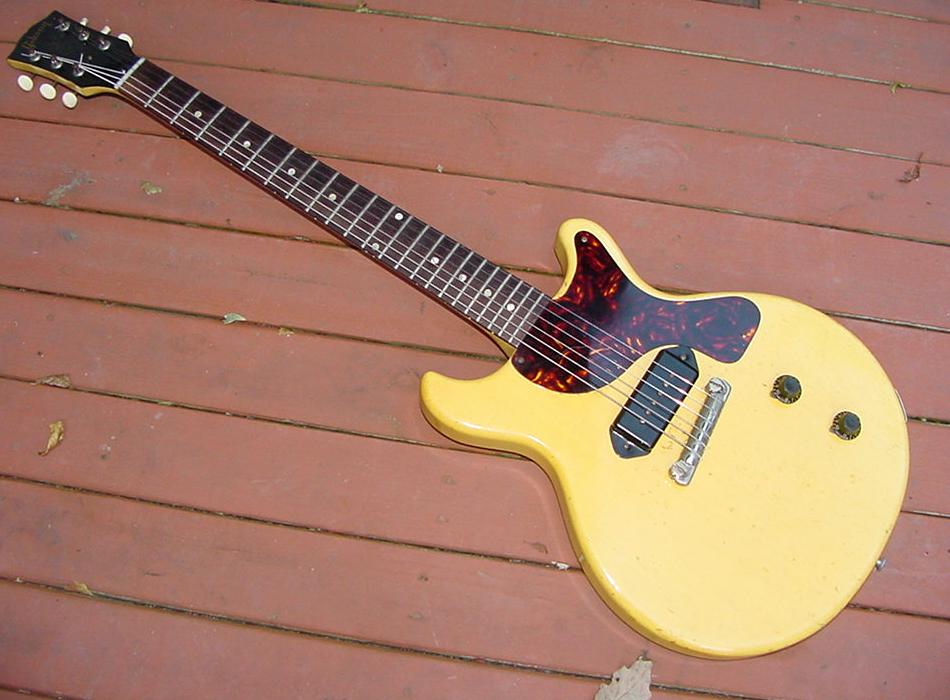 Gibson Les Paul Junior Guitar Tv Model Lp Info Electric