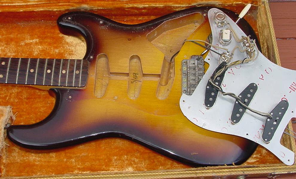 1959 Fender Stratocaster guitar 1960 Fender Strat guitar 59 ... on