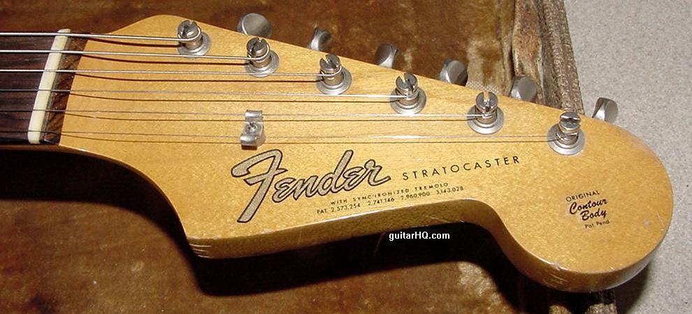 Fender`S Serial Number Dating Service