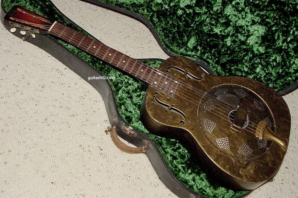 National Duolian Resonator Dobro Guitar Info Vintage 1930 To 1938