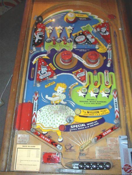 Williams Pinball Machines Woodrail Flipper And Arcade