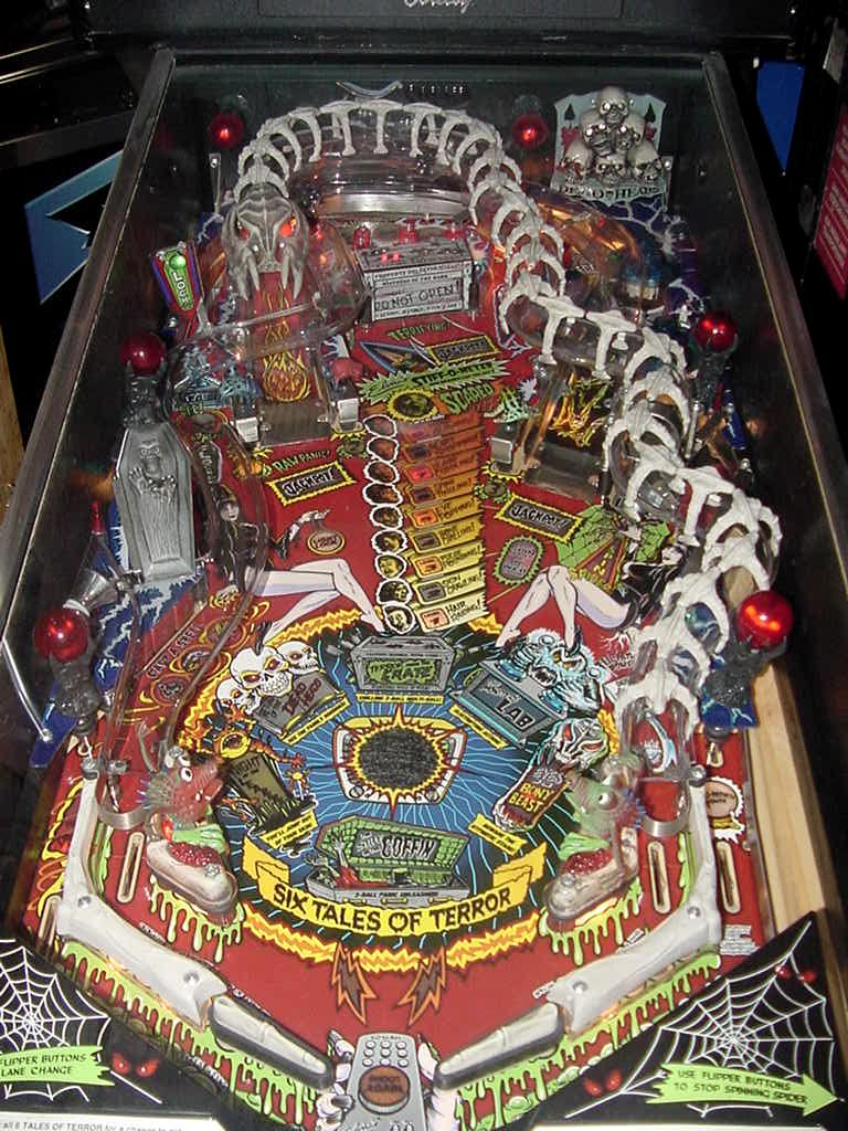 scared stiff pinball machine